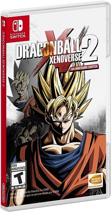 BANDAI NAMCO Entertainment Dragon Ball XENOVERSE 2 vídeo - Juego (Nintendo Switch, Acción, T (Teen)): Amazon.es: Videojuegos
