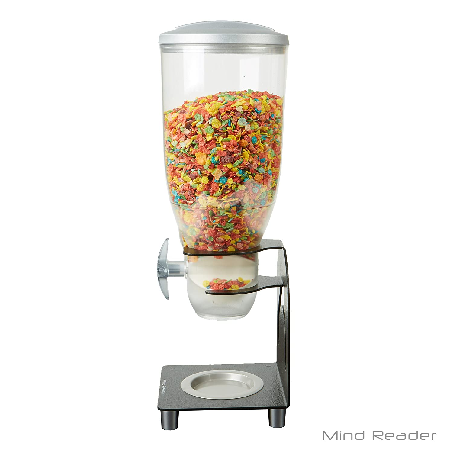 Mind Reader kell200-blk Metal dispensador de cereales, color negro: Amazon.es: Hogar