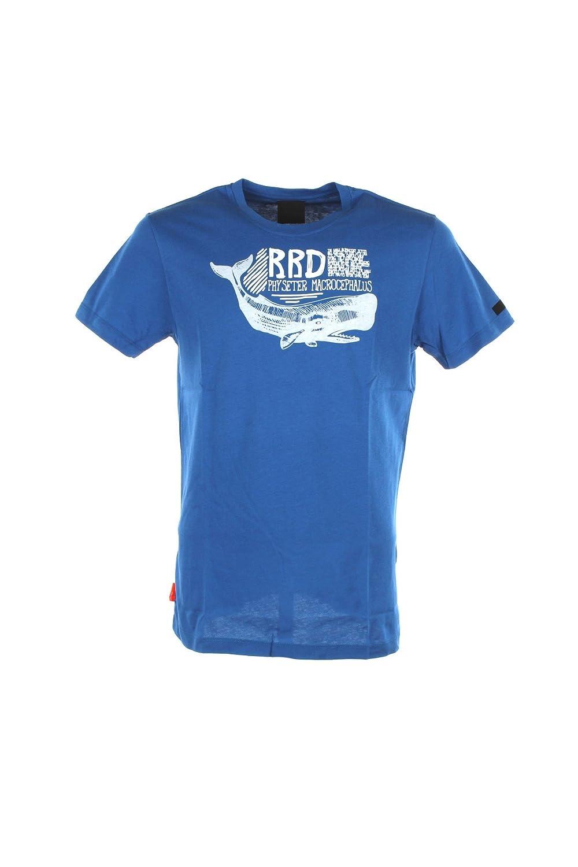 RRD T-shirt Uomo 50 Azzurro 18130 Primavera Estate 2018