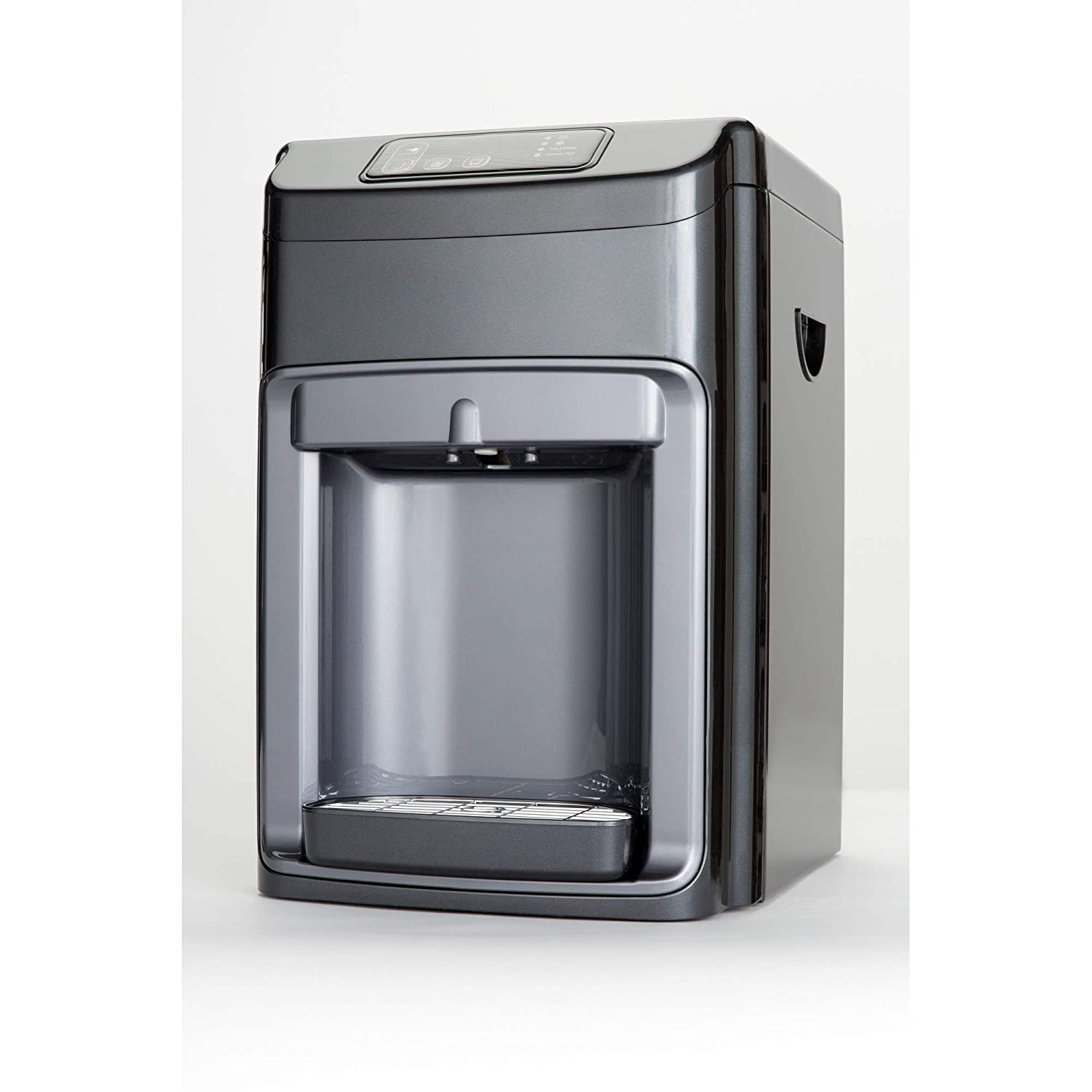 Countertop 3-Stage Ultra Filtration Hot and Cold and Ambient Bottle-less Water Cooler with UV Light and Nano Filter