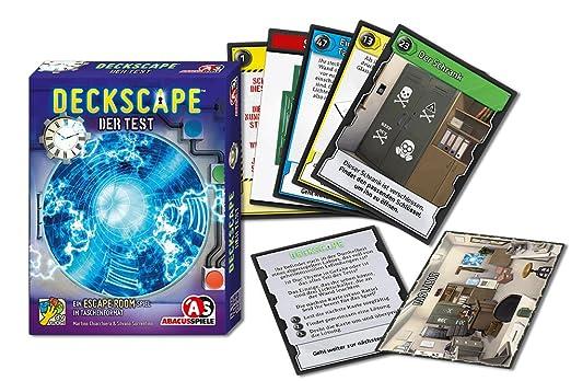 ABACUSSPIELE 38172 Deck Cape - La Prueba, Juegos y Puzzles ...