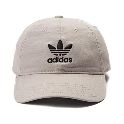 adidas Originals Relaxed Strapback Baseball Hat Trefoil Logo Youth Fit One Size