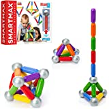 SmartMax Start (23 pcs) STEM Magnetic Discovery Building Set Featuring Safe, Extra-Strong, Oversized Building Pieces for Ages