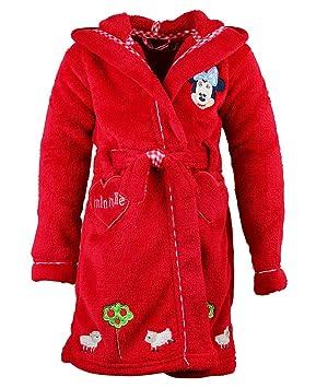 53398bd2b7174 Disney Minnie Mouse Peignoir à Capuche en polaire peignoir de bain Filles  Caractère pour femme Taille