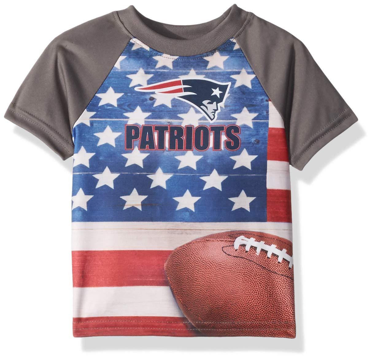 【後払い手数料無料】 Gerber USA 子供服 12 ニューイングランドペイトリオッツ 幼児 Months USA 旗 Tシャツ 12 Months B07C9LRG33, T-ALPHA:9992b7ca --- newsdarpan.in