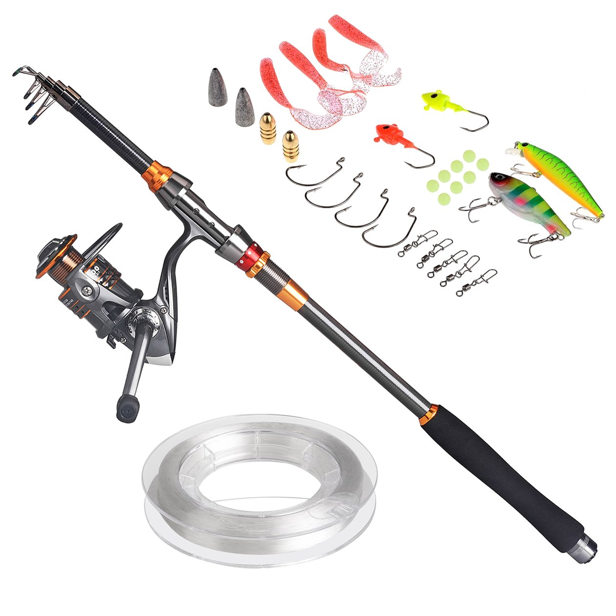 Best telescopic fishing rod the best selling fishing rods for Amazon fishing gear