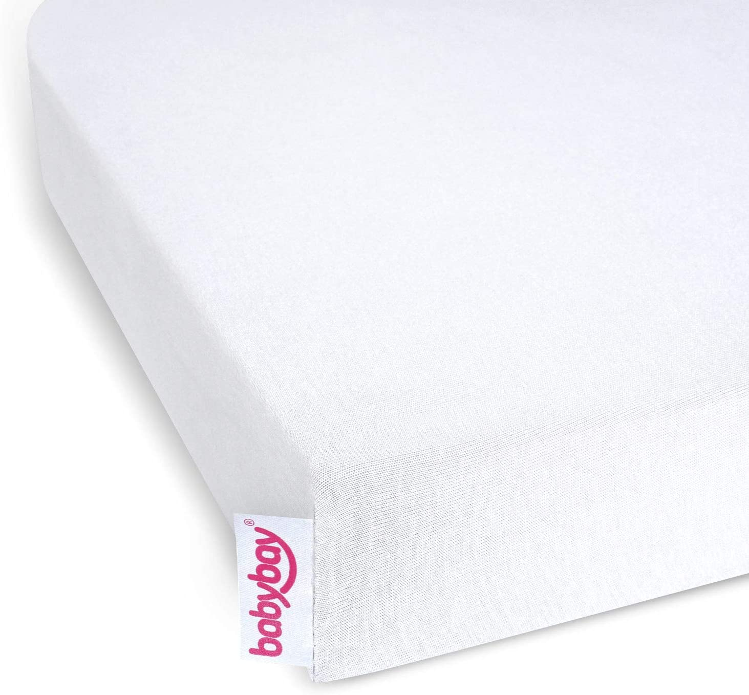 babybay jersey cover Deluxe with membrane suitable for model Original and Light 100575 white