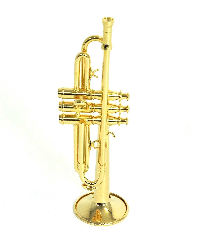 Amazon.com: 【Trumpet】 1/6 Scale Miniature Brass Instrument: Toys ...
