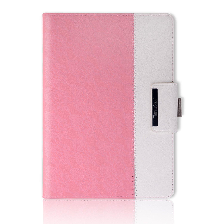 Thankscase回転するケースカバー iPad Pro 9.7用ケース 財布ポケット ハンドストラップ オートスリープ/解除 iPad Pro 9.7 Rotating Case LA8023P97-LR B01N9K5BU9 iPad Pro 9.7 Rotating Case|Lace Rose Gold Lace Rose Gold iPad Pro 9.7 Rotating Case