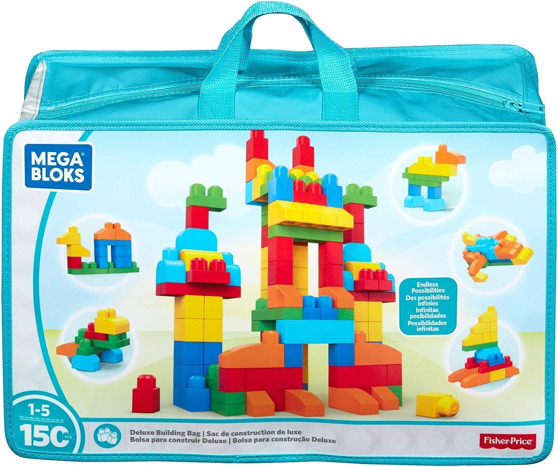 Mega Bloks First Builders Deluxe Building Bag [Amazon Exclusive]