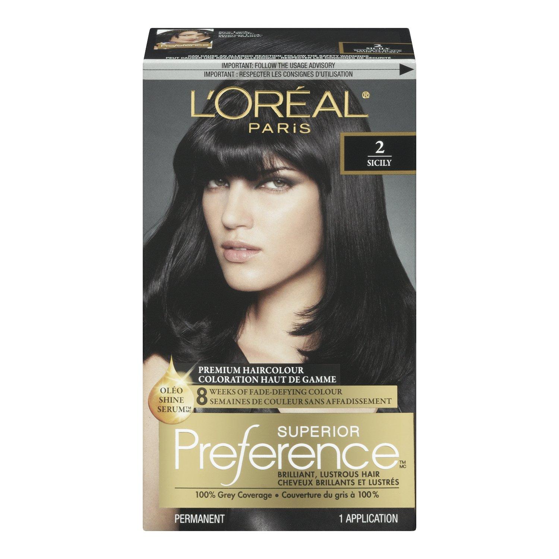 Loreal Paris Superior Preference Permanent Hair Colour 64 Dark
