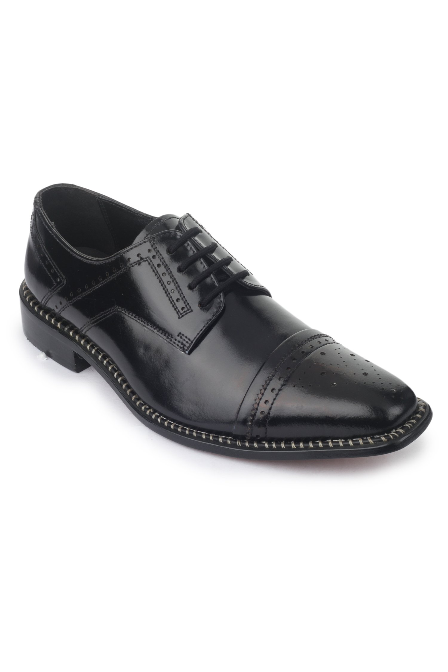 Liberty Fortune Handmade Mens Leather Classic Oxford Cap Toe Lace Up Dress Shoe 14