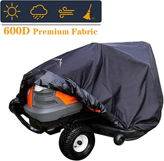 Himal Pro Lawn Mower Cover - Heavy Duty 600D Polyester Oxford