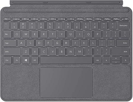 Microsoft Surface Go Signature Type Cover teclado para móvil Platino QWERTY Italiano - Teclados para móviles (Platino, Tejido alcántara, Microsoft, ...