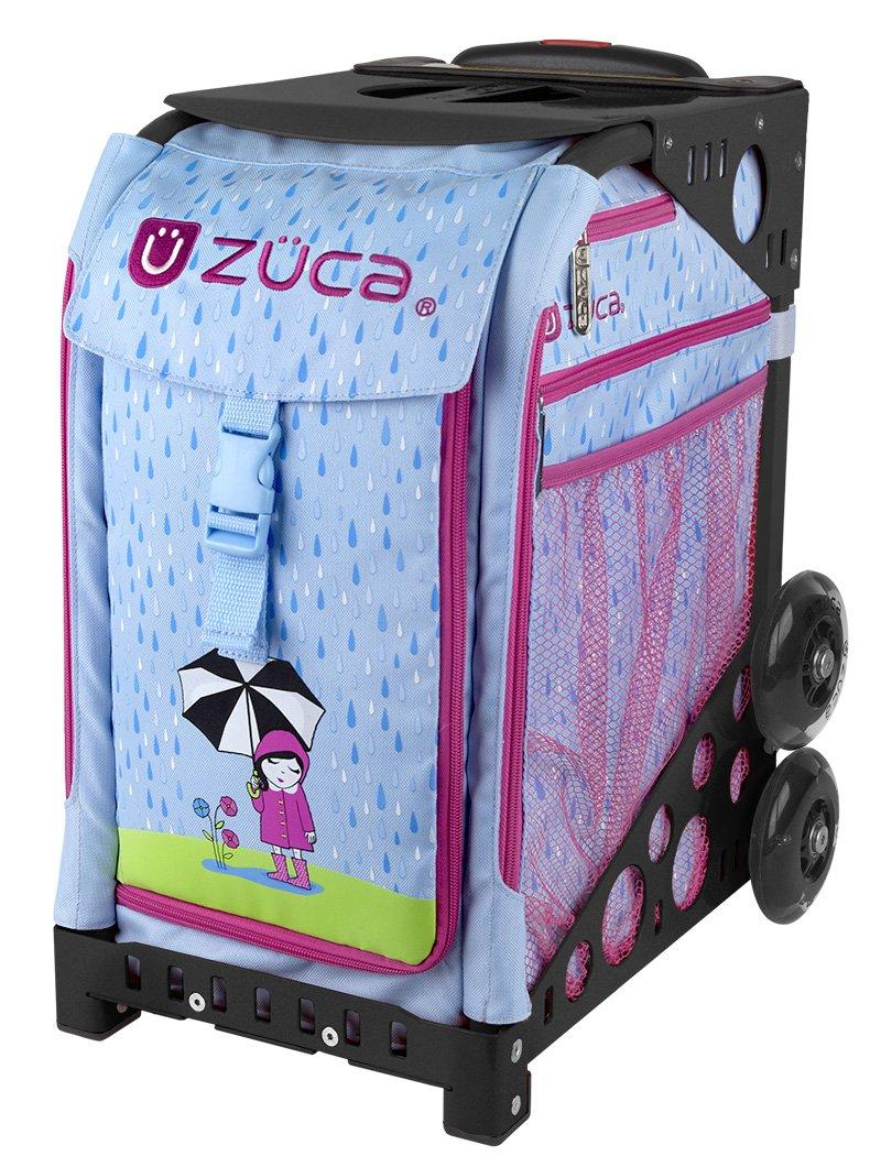 Zuca April showers ice skating bag (black frame)