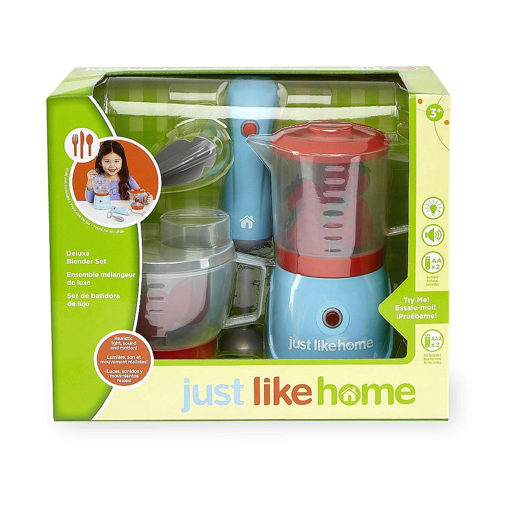 Just Like Home Deluxe Blender Set Kitchen Toys Amazon Canada