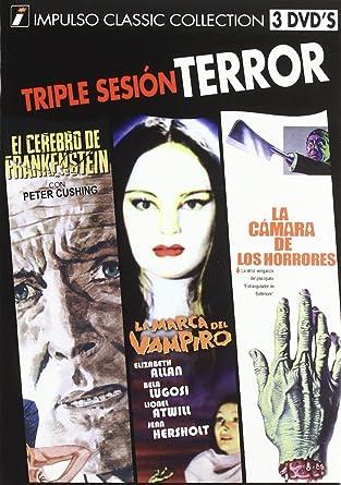 Pack Terror 1(Marca Vampiro) [DVD]: Amazon.es: Varios: Cine y Series TV