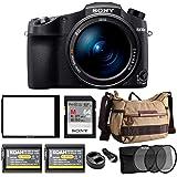Sony CyberShot RX10 IV Digital Camera with 64GB SD Card and Accessory Bundle