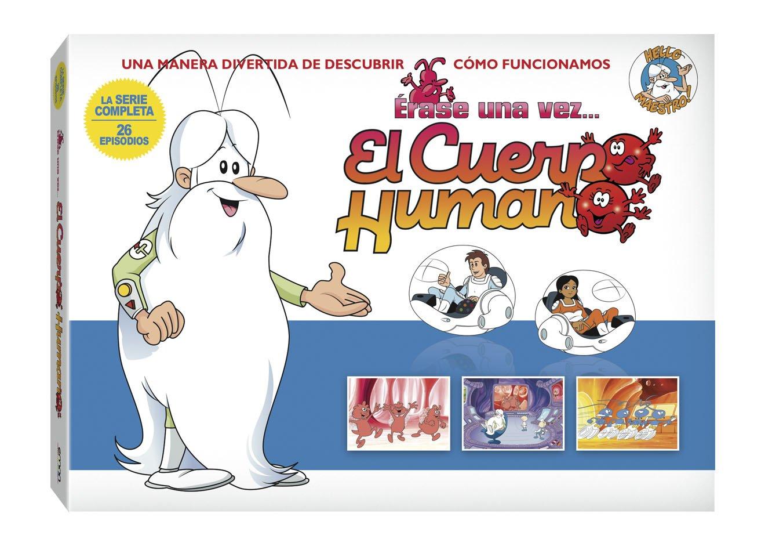 Erase Una Vez El Cuerpo Humano La Serie Completa 5 Dvd Movies Tv