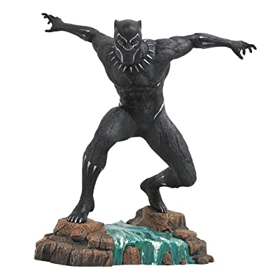 DIAMOND SELECT TOYS Marvel Gallery: Black Panther Movie PVC Vinyl Figure: Toys & Games