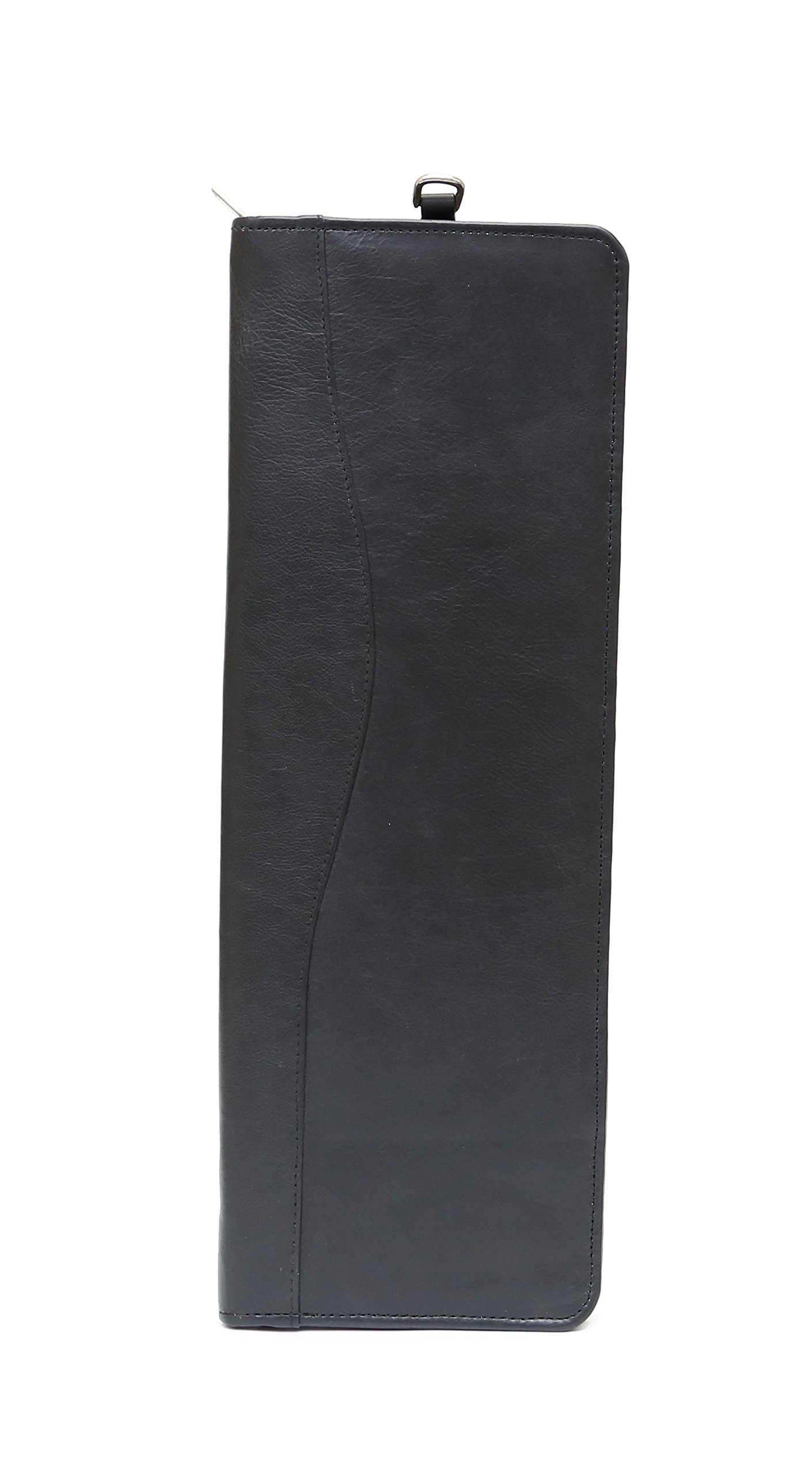 Ashlin 100% Tuscany Leather Zippered Tie Case (TIE01-18-01)