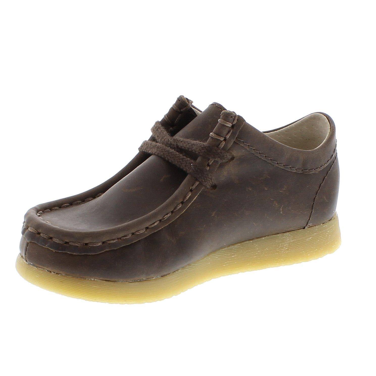 FOOTMATES Wally Low Wallabee Oxford Brown Oiled - 9125/12.5 Little Kid M/W by FOOTMATES (Image #5)