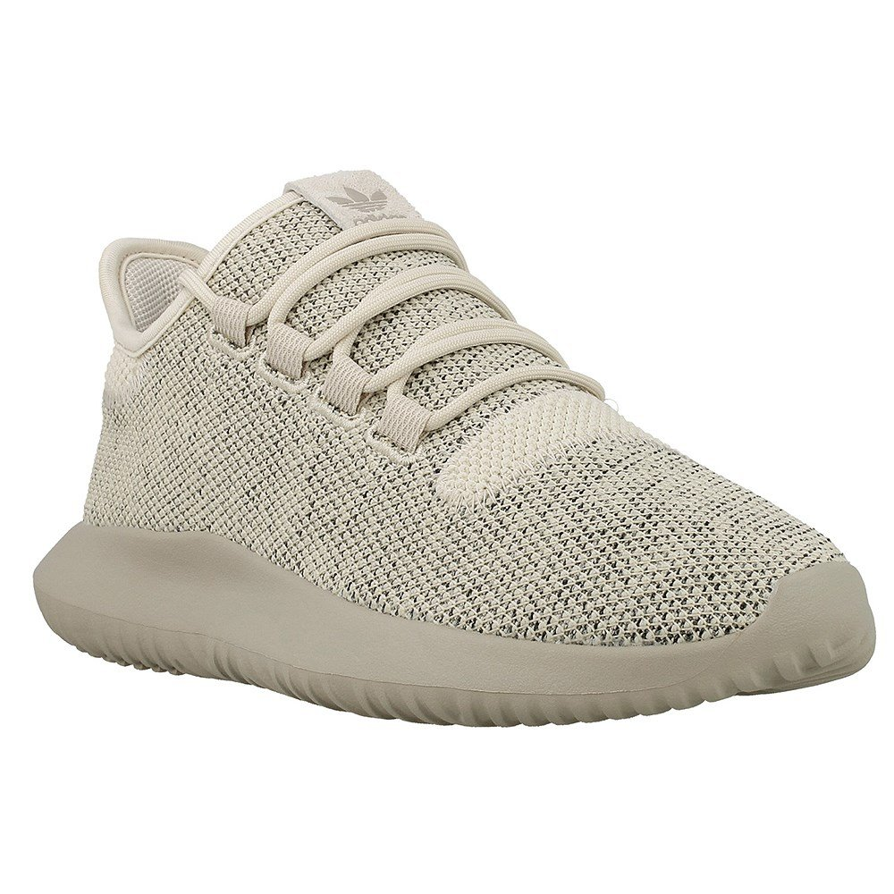 adidas Originals Kids' Tubular Shadow J Sneaker, Clear/Brown/Collegiate Silver/Black, 5.5 M US Big Kid