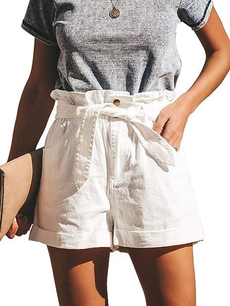 Amazon.com: Govc - Pantalones cortos de algodón elástico de ...