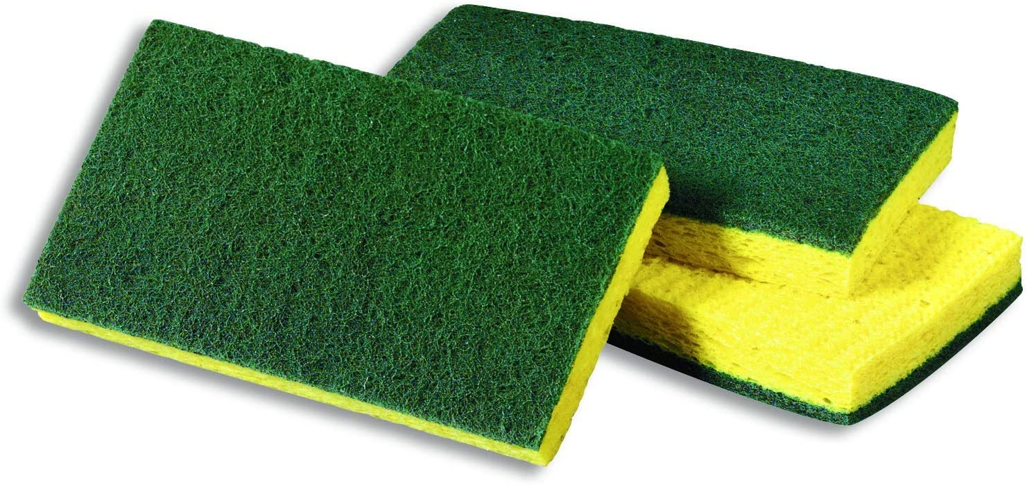 Scotch-Brite Medium Duty Scrubbing Sponge 74, 6.1 in x 3.6 in x 0.7 in
