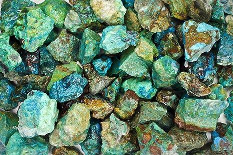 18 lb Natural Angelite Tumbled Stones from Peru Fantasia Materials