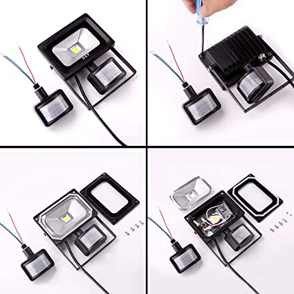 Sensor de movimiento para luz de inundación