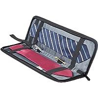 BAGSMART Household Travel Tie Case Tie Caddy Black