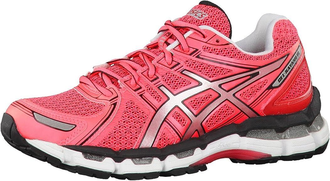 Asics Gel - Kayano 19 Running Shoes T350n 1993, Hot Pink/Lightning/Black, 39.5: Amazon.es: Zapatos y complementos