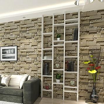Jingzou 3D Stereo TV Wand Tapeten Imitation Brick Wallpaper Clothing Store Dekoration  Schlafzimmer