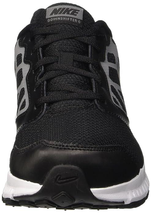 Nike Downshifter 6 GS//PS Junior Schuhe Schwarz//Silber 684979-003