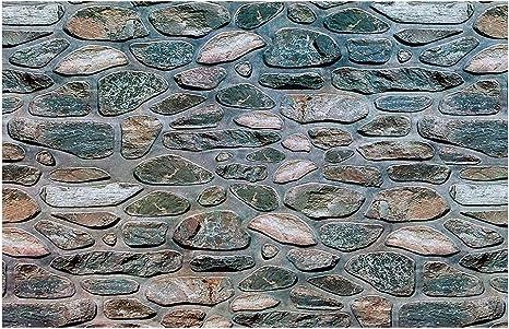 Stone Wall Surface YOKOU Decorative Aquarium Background Paper Fish Tank Backdrop Static Cling Wallpaper Sticker