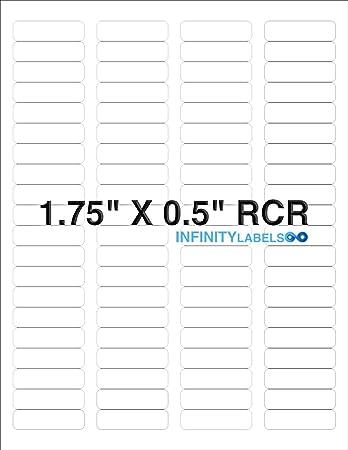 "OL1543WX 1,000 sheets, 40k labels 3.125/"" x 0.5/"" Labels Standard White Matte"