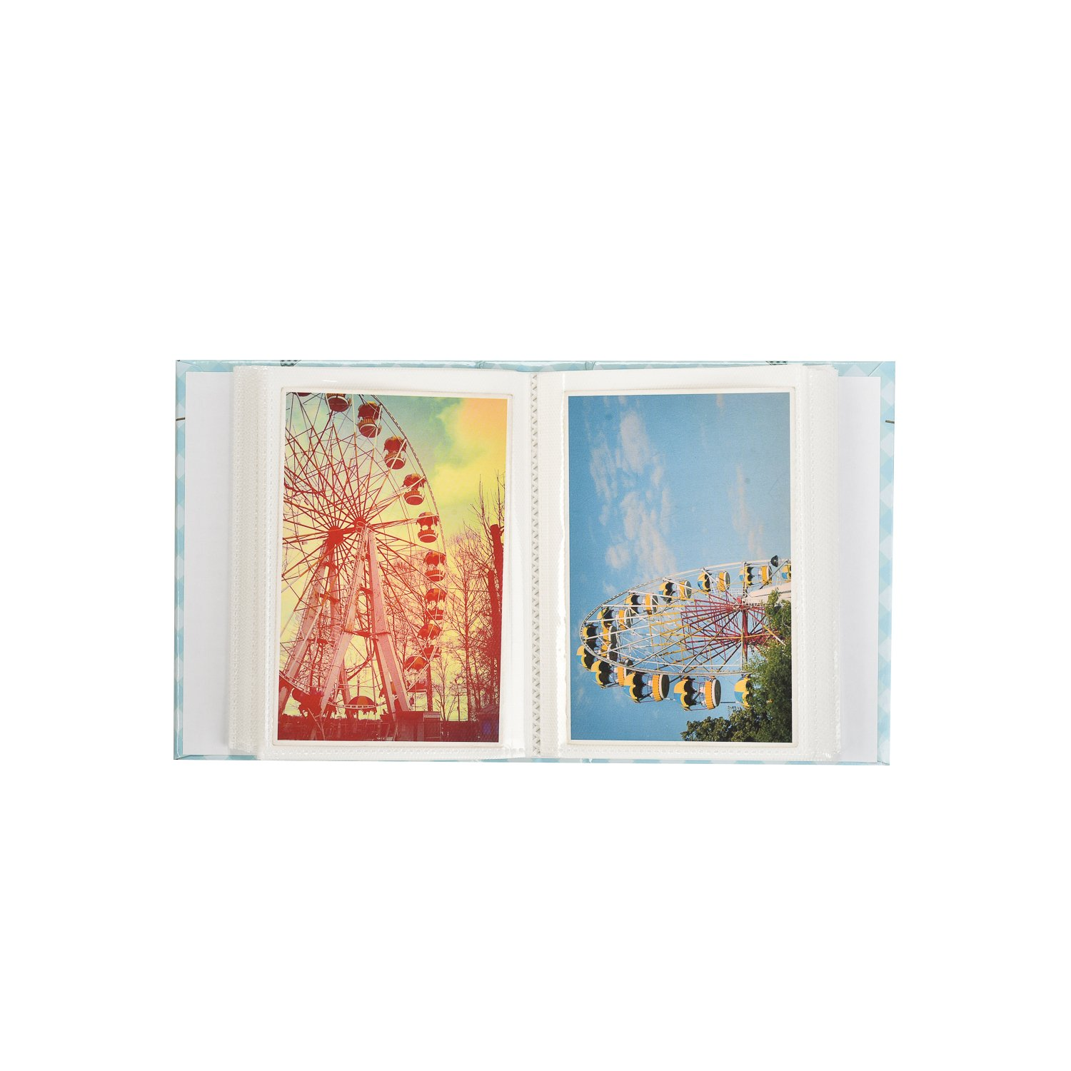 CL-SM100PE Arpan 6x4 Small Slip in Case Photo Album for 100 Photos Various Design /& Colours Perfect Gift for Baby /& Kids