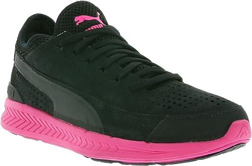 Puma IGNITE SOCK Zapatillas para Correr Running Negro Rosa ...