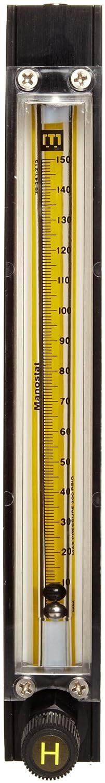 404070215 Bel-Art Riteflow Aluminum Mounted Flowmeter; 150mm Scale H40407-0215 Size 4