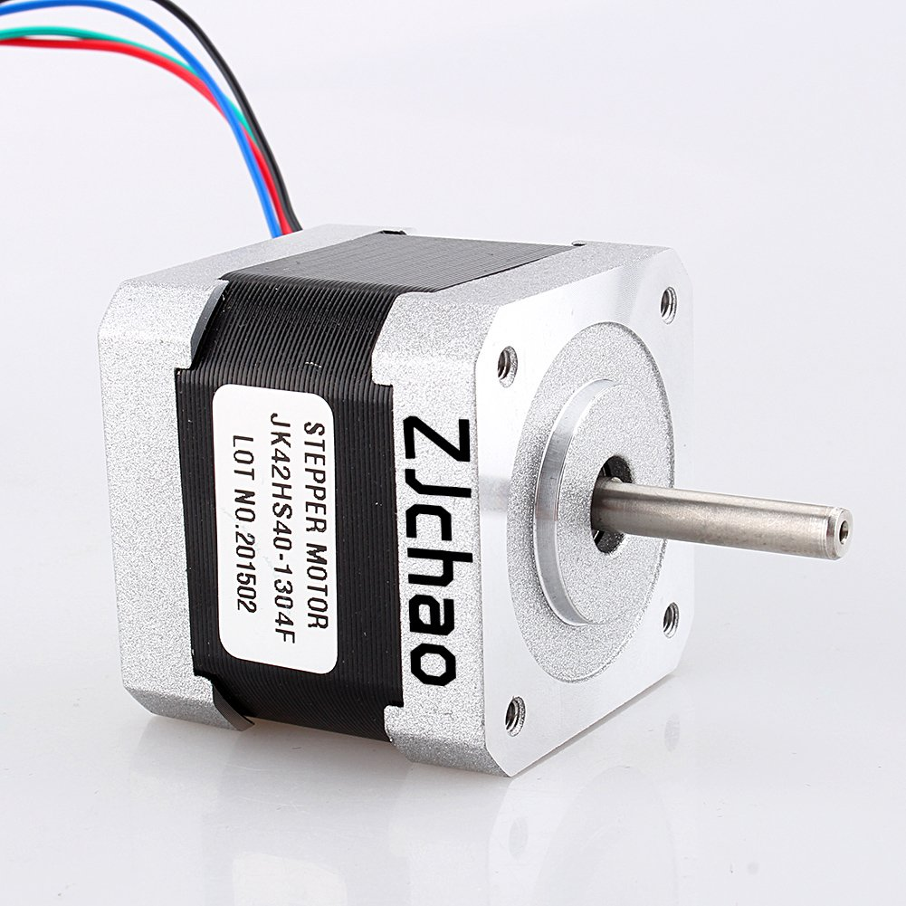 Yosoo 57oz-in 1Nm Nema 17 Stepper Motor 1.3A 40mm for CNC Router or Mill zjchao668