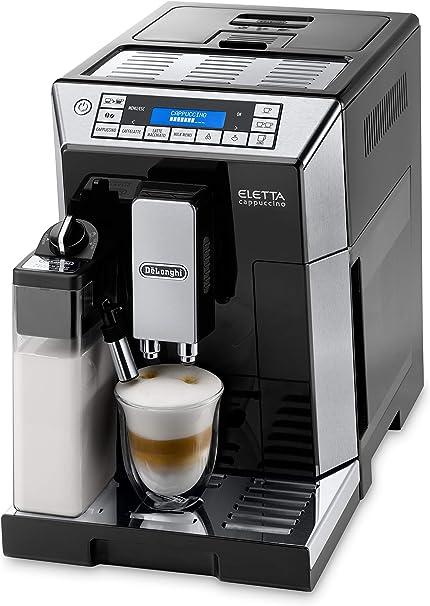 DeLonghi ECAM 45.766.B - Cafetera (Independiente, Máquina espresso, 1,9 L, Granos de café, De café molido, Molinillo integrado, 1450 W): Amazon.es: Hogar