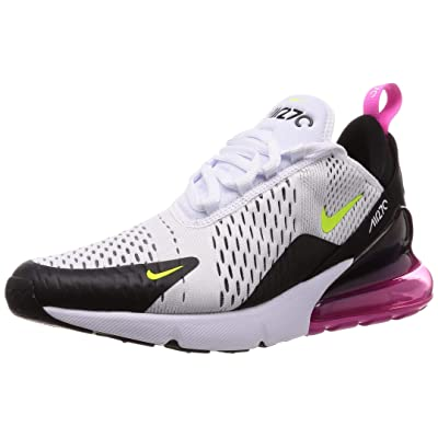 Nike Mens Air Max 270 Running Shoes Black/White/Concord AH8050-109 Size 13 | Road Running
