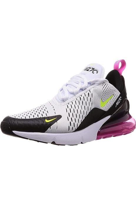 Nike Mens Air Max 270 White/Volt/Black