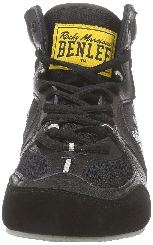 BENLEE Rocky Marciano Zapatillas de Boxeo Para Hombre, Color Negro, Talla 42
