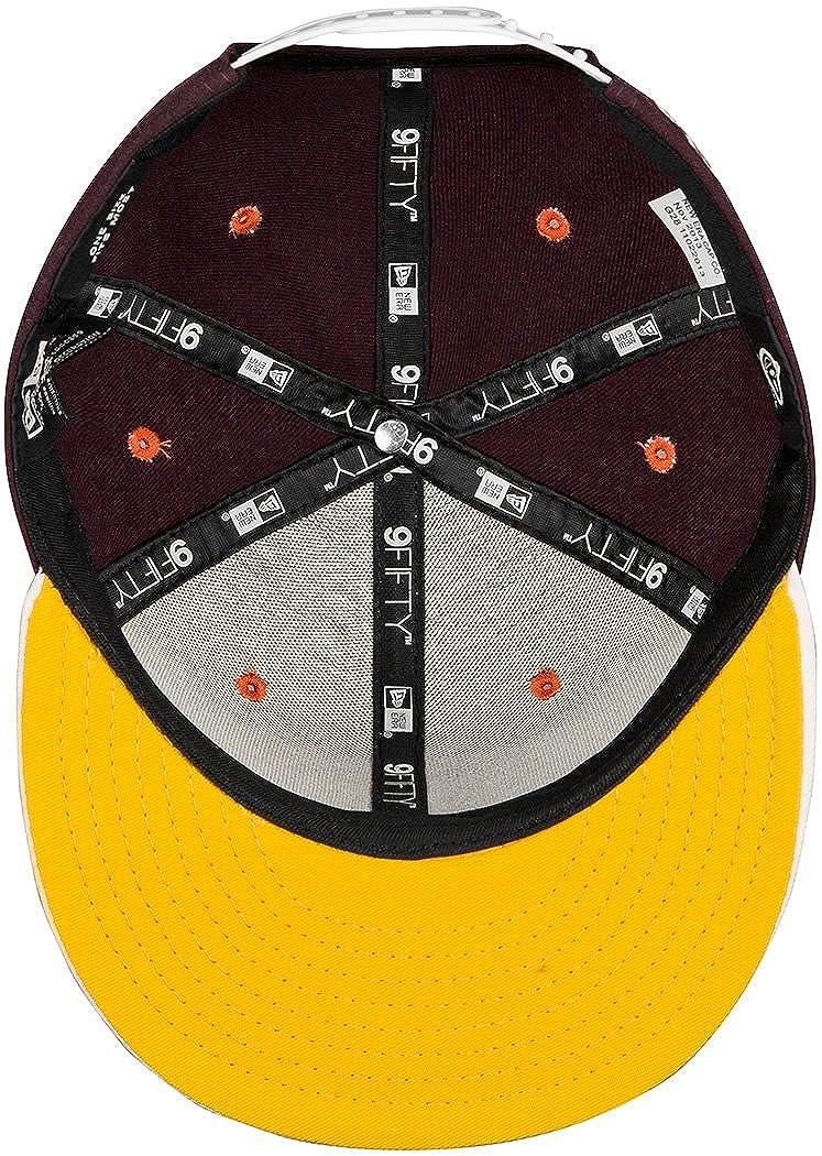 579e54506977a Yums New Era  Classic diseño de rayas con imágenes  9FIFTY Gorra de edición  limitada  Amazon.es  Ropa y accesorios
