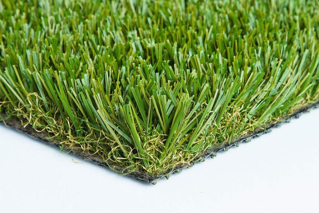 103 oz Thick Heavy Artificial Synthetic Grass Turf Dog Many Sizes (5' x 10' = 50 Sq Ft.)