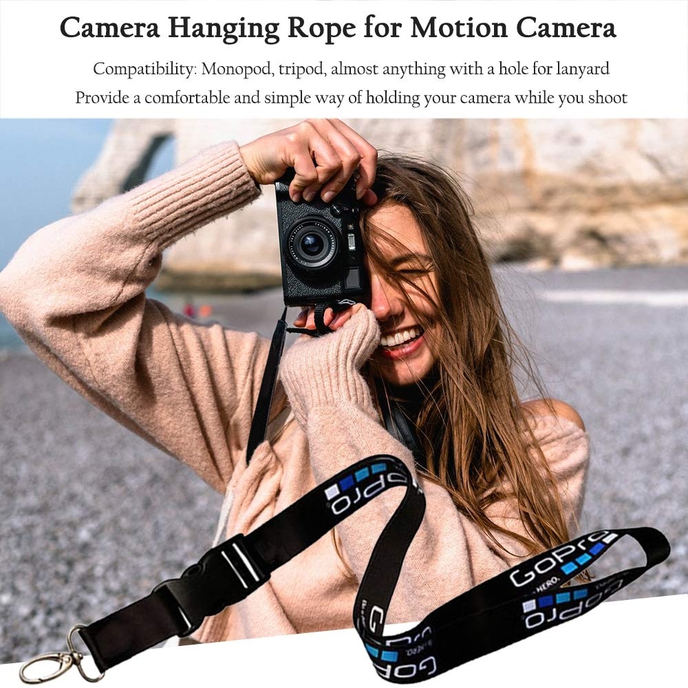 Sports Camera Accessories Rope for Gopro Lanyard Hero for Mountain Dog for Small Ant Camera Lanyard Accessories