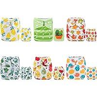 Alva Baby - Pañales de tela reutilizables (6