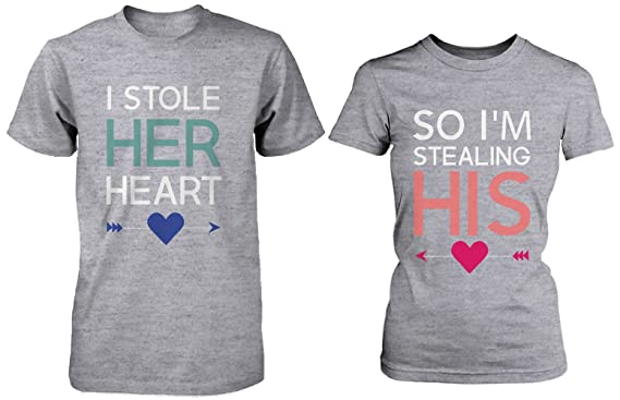 Romantic Couple Shirts - Camiseta para parejas con diseño de ...